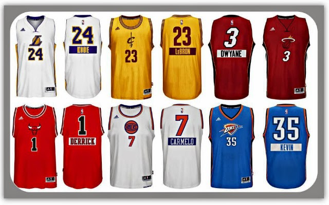 the best attitude 427d9 6499c NBA Christmas Jersey unveiled and its pretty... - Powcast Sports
