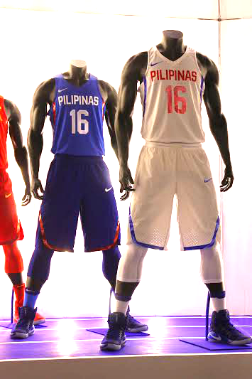 901d5f9e5e2f Nike unveiled the 2016 Gilas Pilipinas National Team Kits that they will be  wearing during the Olympic Qualifiers in Manila later this year and  hopefully