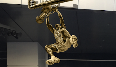 "3fde3eb770e To celebrate the unveiling of a bronze statue of legendary Los Angeles  Lakers and NBA Hall of Fame player Shaquille ""Shaq"" O'Neal in Star Plaza at  STAPLES ..."
